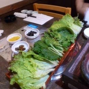 新橋 韓国料理 やさい畑>