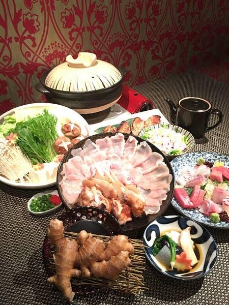 【個室離れご利用】大山鶏と浅利の白湯鍋コース 土鍋白米付き