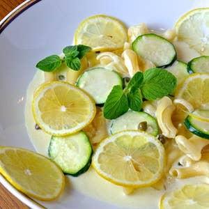 佐賀のレモンとズッキーニの『レモンクリーミー』スパゲッティーニ