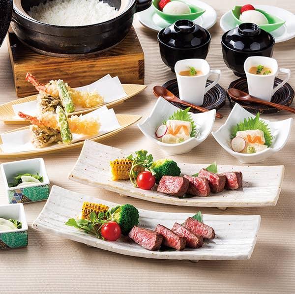 〈雅ーMIYABIー〉炭火焼と土鍋銀シャリご飯を楽しむ会食膳 お料理のみ3,000円(税込)全5品