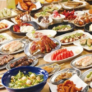 【料理100種類+ドリンク70種類】2時間食べ飲み放題【2800円(税抜)】(1名様~)