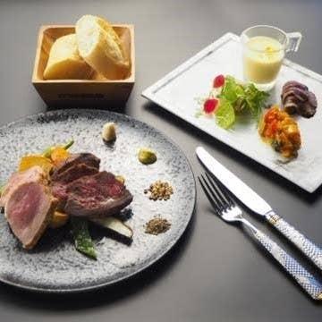 【ランチ】赤城の黒毛 発酵熟成牛2種ステーキコース
