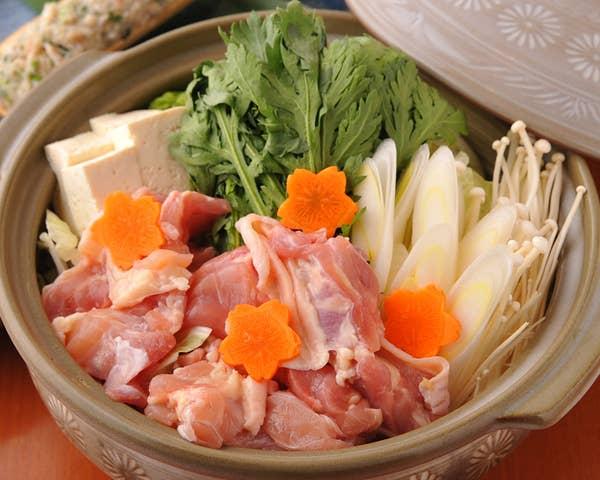 <2H飲放+地酒も飲放題!>忘年会にお勧め!【選べる鍋】と季節の料理の「鍋の純コース」