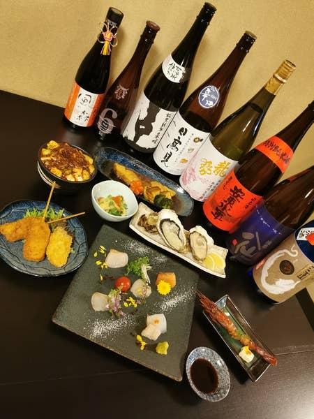 旬食材の贅沢7品ペアリングコース