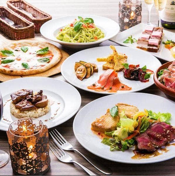 【3H飲放×歓送迎会】豪華!人気の肉魚付!料理を2品選べるワンランク上の「プレミアムコース」6,000円