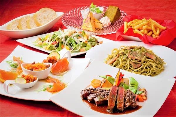 記念日におススメ!牛フィレ肉ステーキ赤ワインソースとチーズラクレットのシェアコース[記念日お祝いOK]