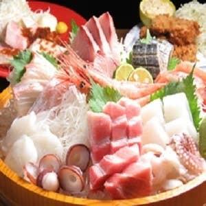 11月の予約はコチラ!旬の海鮮コース【120分飲み放題付き!旬の海鮮料理8品】→5000円