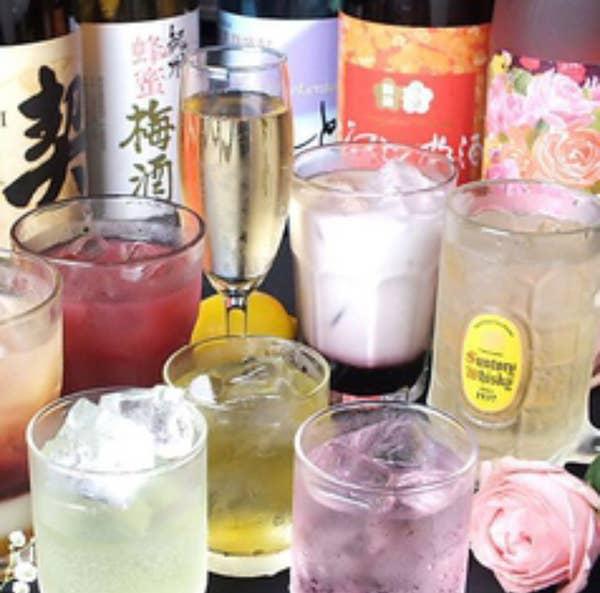 単品2時間飲み放題1500円→999円(金、土、祝前日は1500円)