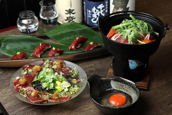 ◆◆寿の膳◆◆ ブランド鶏の美桜鶏のすき焼きと〆にはウニいくらキャビアTKGが楽しめる贅沢懐石御膳