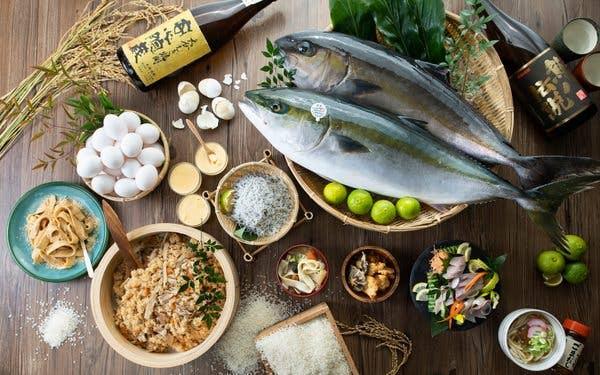 【大分地物を食べつくせ!】郷土料理・寿司・刺身 食べ放題の贅沢ビュッフェプラン☆