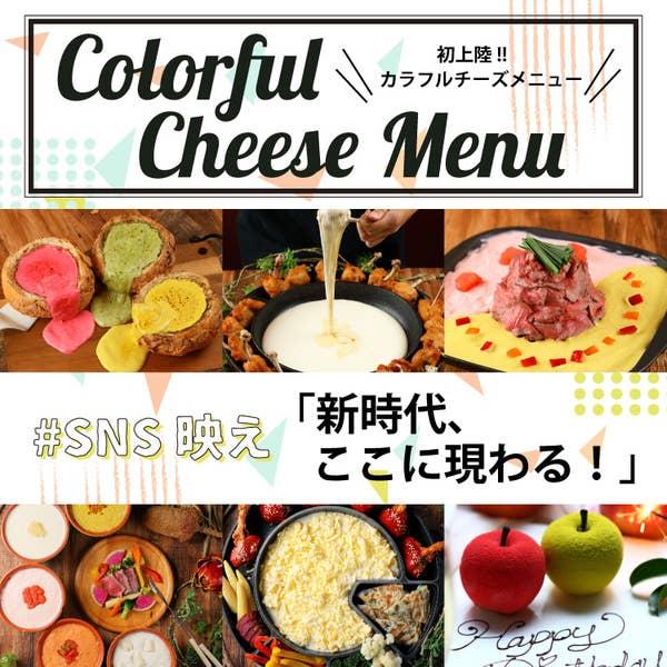 チーズを使った料理が豊富!