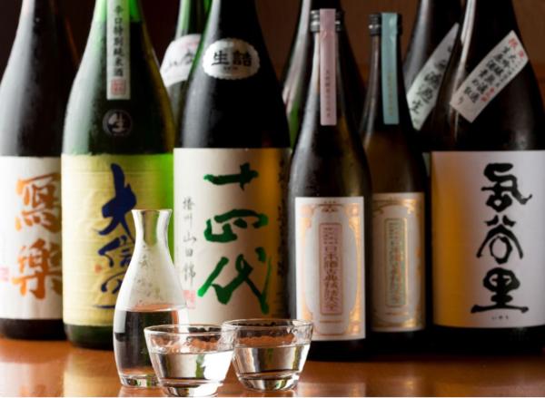 日本酒10種飲み比べ