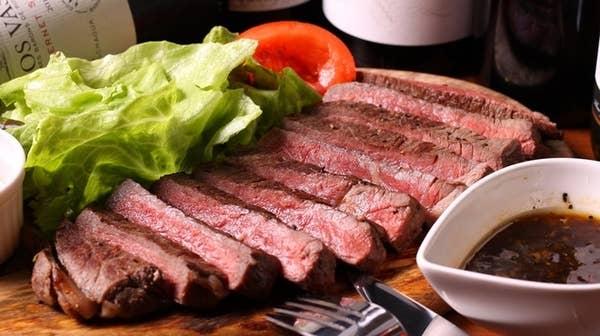【2時間80種飲み放題付】宮崎牛ステーキと赤ワイン仕込付贅沢コース 5,800円〈全10品〉