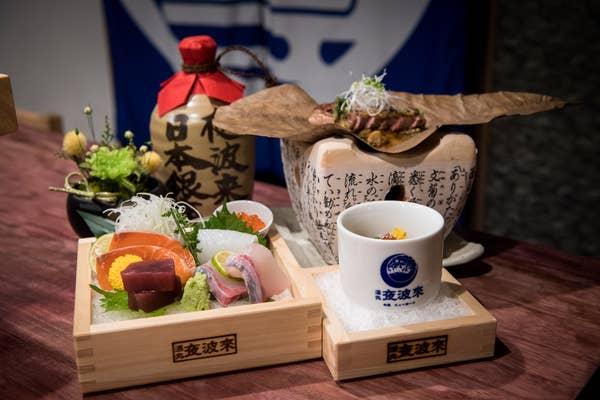 【Web限定】刺身五種盛合わせや海老進上、和牛朴葉味噌焼き入り!9,000円コース