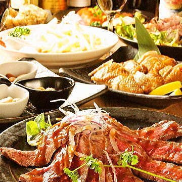 【2時間飲み放題】8品 『燻製尽くし』宴会コース5000円⇒4000円♪燻製料理を堪能♪