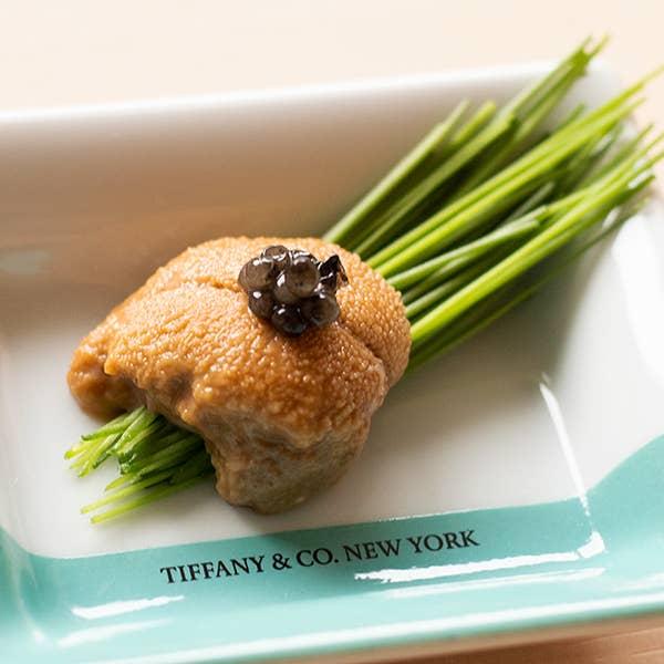 《Tiffany & Co.の彩り》カウンター席限定 お任せ握りプラン 12000円