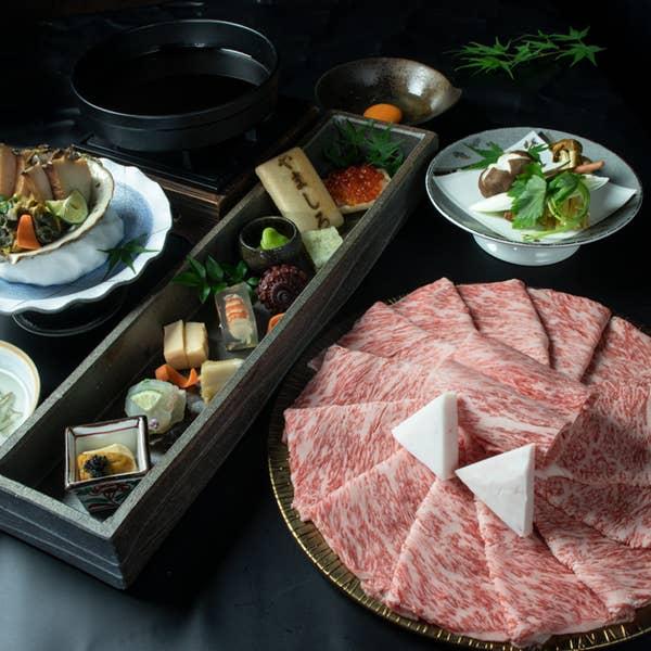 ◆神戸牛と黒毛和牛◆会席料理7,000円