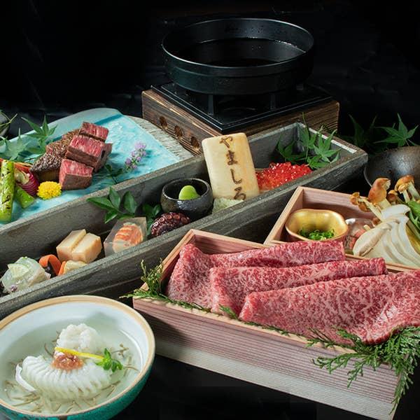 ◆神戸牛と黒毛和牛◆会席料理9,000円