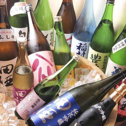 【単品飲み放題】田酒・豊盃・八仙も!!生ビールやサワー含む60分飲み放題コース