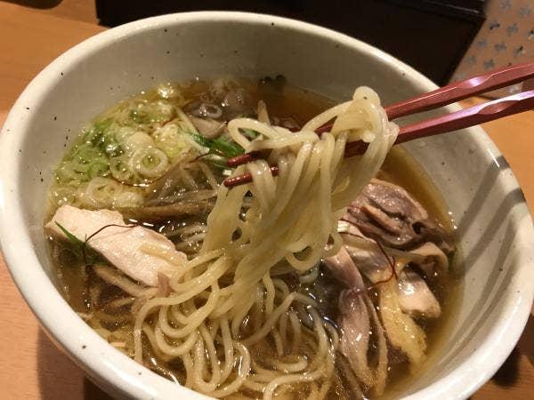 肉そば鶏中華 最上川>