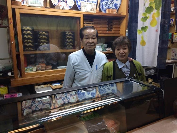長年、三江線と共に過ごしてきた大将と女将